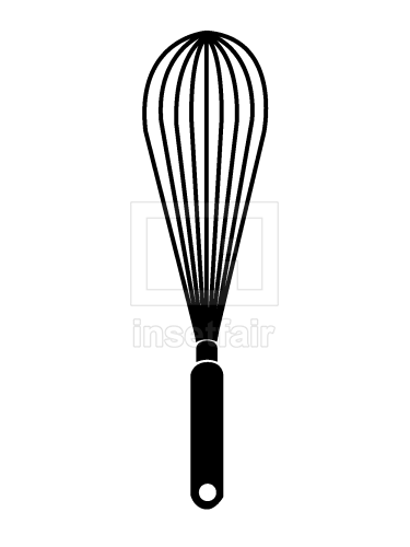 Whisk kitchen tool free vector image
