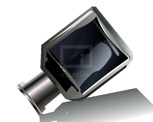 Black ink bottle vector png clipart free source