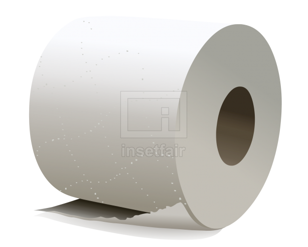Facial tissue paper roll vector png image free for commercial use