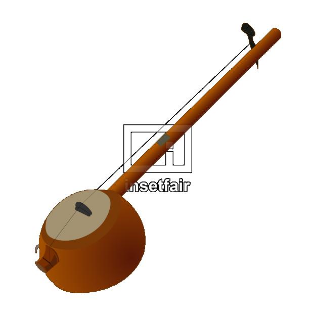 Ektar indian folk musical instrument vector free download
