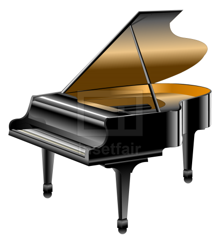 Piano an acoustic  stringed musical instrument
