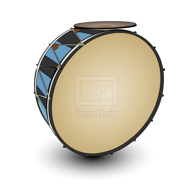 Professional Double Bass Drum Vector free downloads