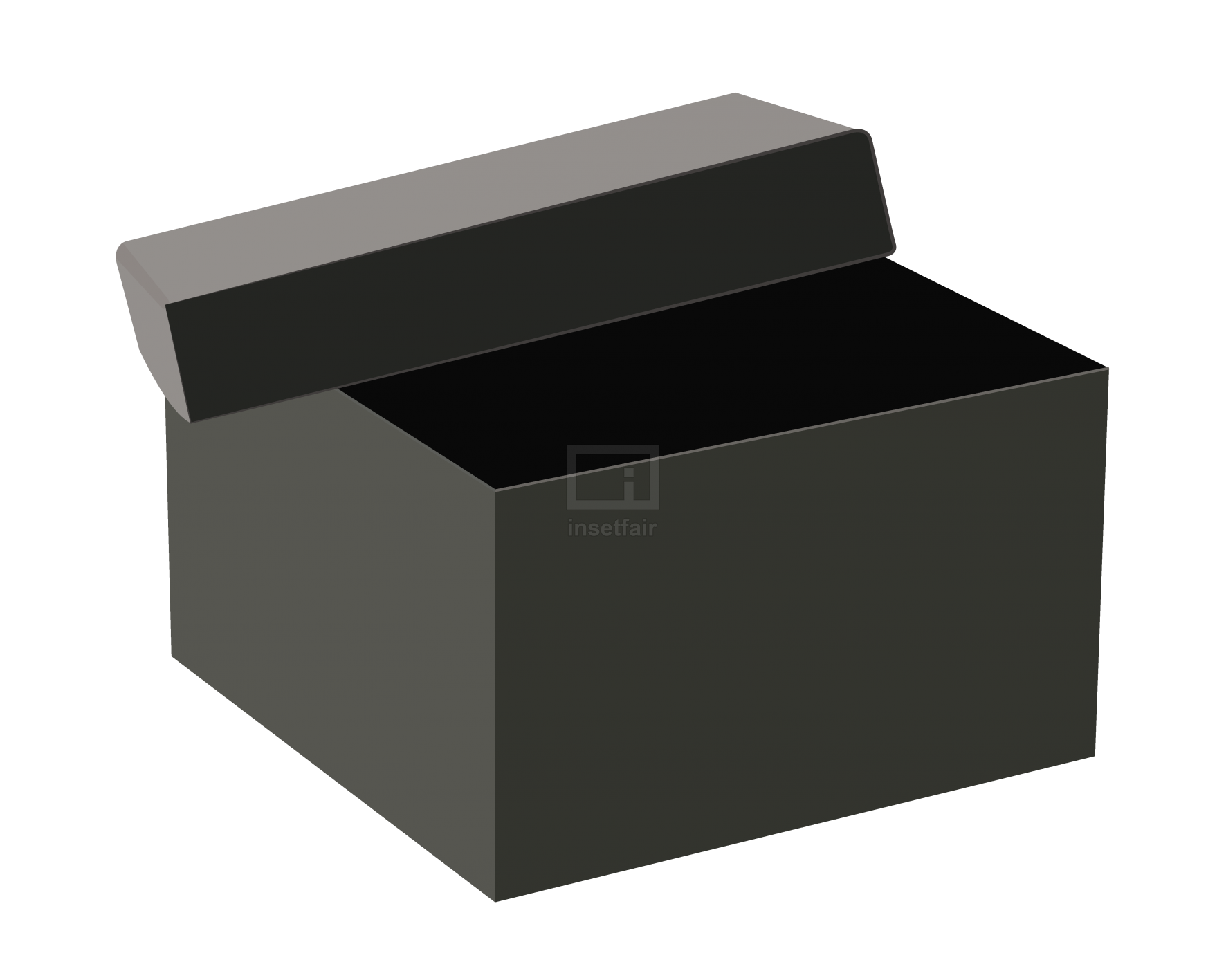 Open Black Box Stock vector Image free for commercial use