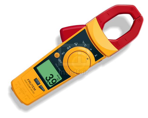 Digital Clamp Meter vector image in png format