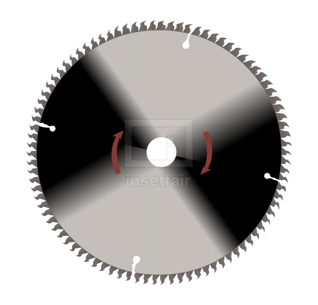 Circular saw blade cutter vector flash illustration png image
