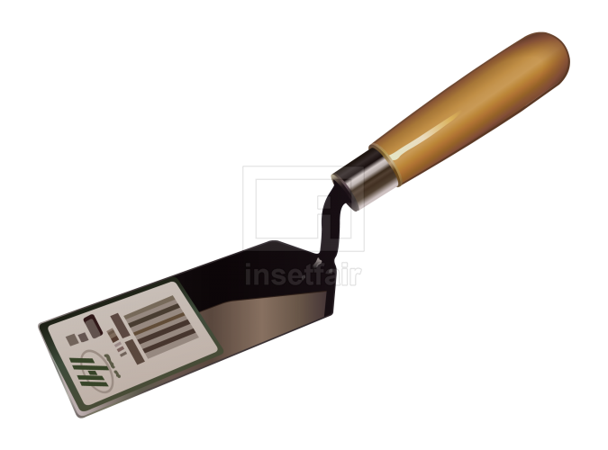 Masonry bricklaying trowel vector royalty free png images for commercial use