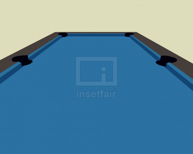 Billiard blue table vector illustration PNG Stock image