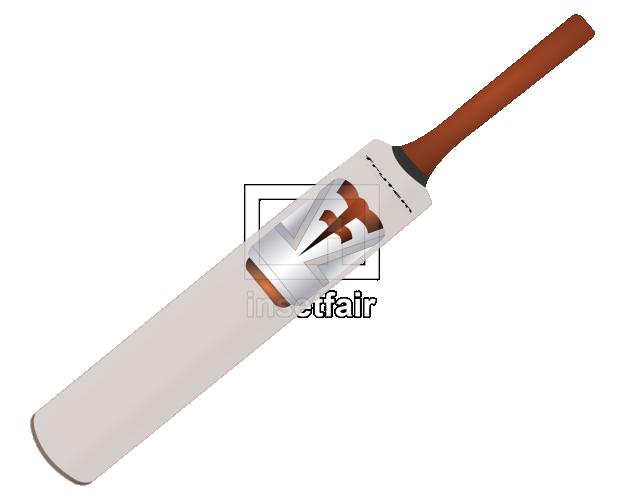 Vector cricket bat clipart image free PNG file