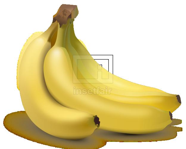 Banana vector drawing fla royalty free png image