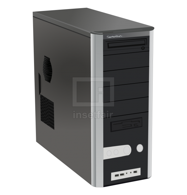 CPU cabinet vector computer hardware free png flash graphics