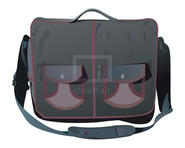 Classic Design front pocket denim handbag