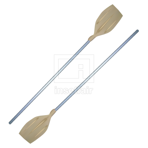 Rowing plastic oars free vector drawings