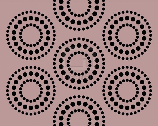 Creative dots circle rangoli designed vector bg wallpaper graphics