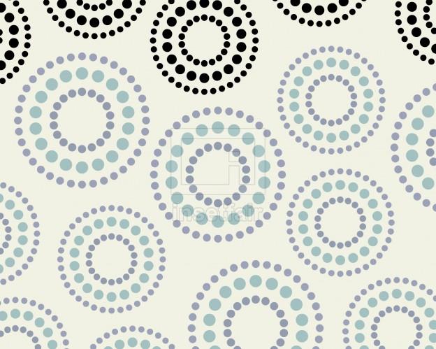 Creative dots circle rangoli designed wallpaper bg vector graphics