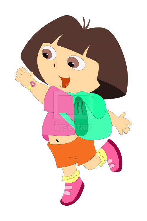 Dora from American animated series