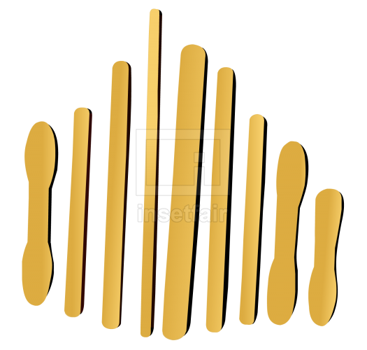 Wooden ice sticks flash graphics for free download