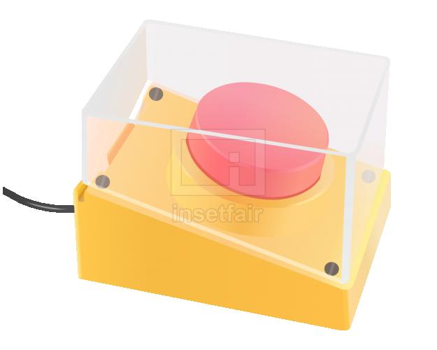 Buzzer electronic game appliances vector flash illustration