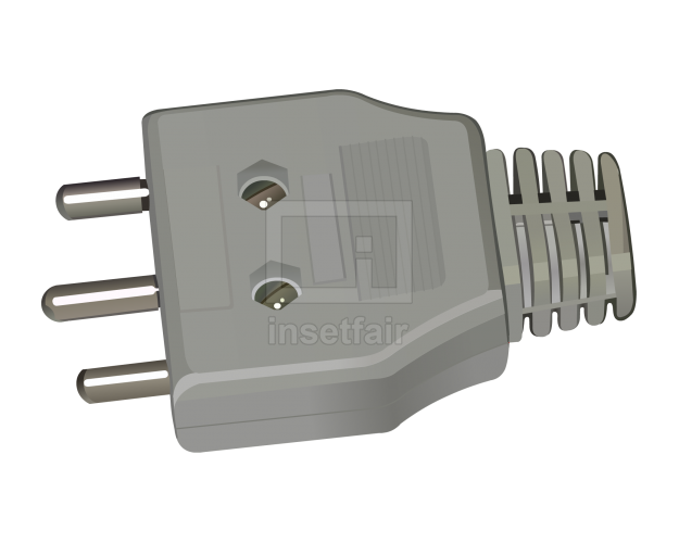 Electric plug vector flash royalty free png image