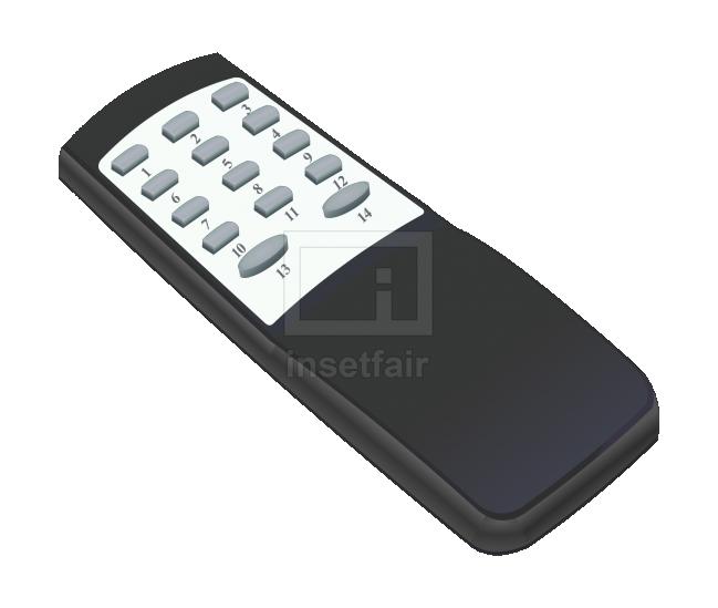 Television remote control vector transparent png download