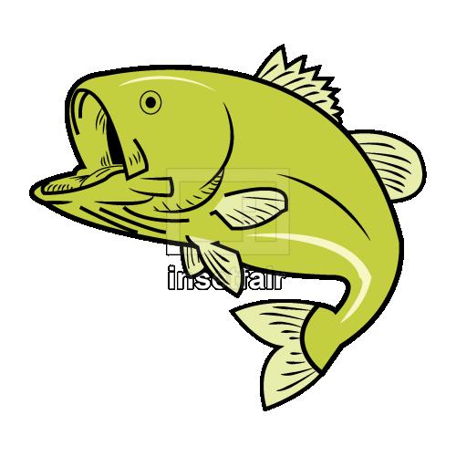 Vector cartoon fish clipart drawing royalty free png stock illustration