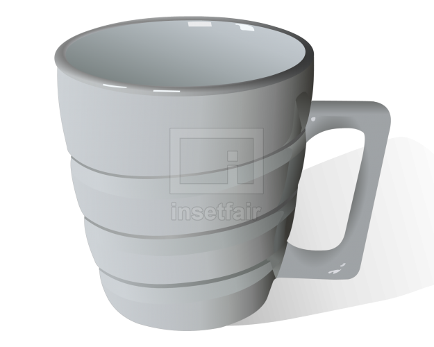 Peengan mug with handle vector illustration png image free for commercial use